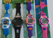 Relojes variados sport y clásico