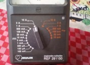 Amperimetro analogico escalas de ac y dc