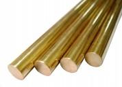 Barras cobre bronce acero hierro aluminio-engranaj