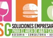 AsesorÍa consultoria  auditoria en a&b y catering