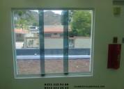 Trancador tic tac para ventanas panoramicas