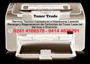Servicio tecnico domicilio impresoras toner laserj