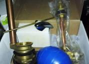 Surtidor/herraje de bronce para wc original fp