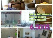 En venta casa en Don Ignacio . Obra gris 8500$