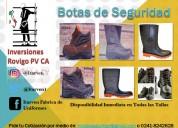 Calzado de seguridad industrial con puntera