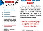 Cursos de inglés especializados