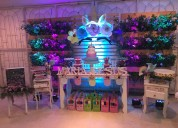 Playful salon infantil, decoraciones,tortas.