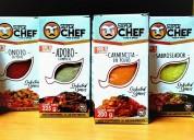 ¡usa los productos de super chef!