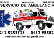 Ambulancias beta  caracas