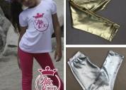 Aprovecha la variedad de leggins para niñas