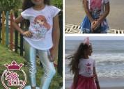Variedad de modelos en conjuntos LOL para niñas