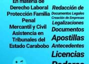 Asesores legales apostille de la haya documentos