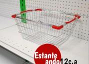 Carros de compras para supermercado