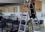 Campana, ducto y extractor industrial
