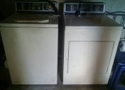 Lavadora y secadora en venta