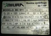 Vendo bomba de agua 1 hp,c115/220vac