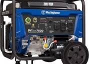 Planta generador elÉctrica westinghouse wg7500 9.5