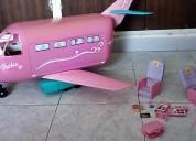 Avión de barbie marca mattel
