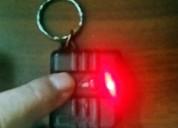 Control remoto inalámbrico (codiplug boton rojo).