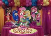 Playful, cumpleaños, tortas y decoraciones