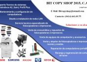 Servicio tecnico de reparacion de impresoras