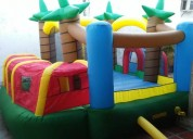 Inflable 4x4 tipo jungla ++ 2 motores