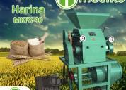 Maquinaria de molino de harina meelko mkfx-40