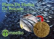Planta de harina de pescado meelko