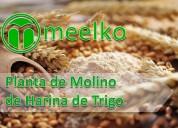 Planta de molino de harina de trigo meelko