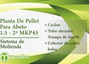 Planta de pellet para abeto 1.5 - 2º mkp45 meelko
