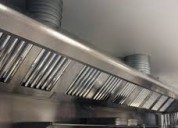 Limpieza de ductos de restaurante
