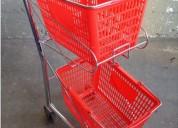 Carros para supermercados y condominios