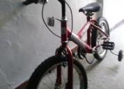 Bicicleta niños deportiva tipo montaña usada