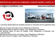 Transporte de carga de camiones  camion canter