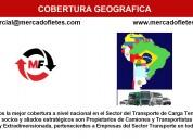 Transporte de carga de tractocamiones batea de 30