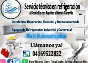 Servicio tÉcnico venta de gas refrigerante al