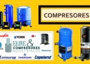 Ventas de refrigerantes y compresores industriales