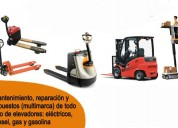 Servicio para montacargas y tra spaletas hidraulic
