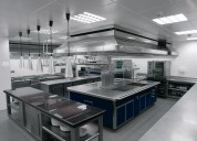 Cocina profesional. limpieza y mantenimiento