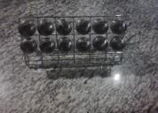 Vendo lujoso porta condimentos 12 frascos nuevos