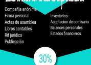 Registro mercantil y firmas personales