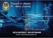 Abogado servicios juridicos, contactarse.