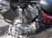 Vendo por no usar moto yamaha virago 535