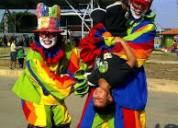 Robot let zancos mimos arlequines artes circenses