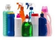 Cloro, cera autobrillante p/pisos, desinfectante