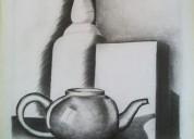 Dibujos sombreados con lápiz grafito