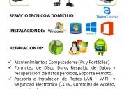 Servicio tecnico de pc y cctv