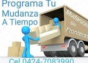 Camiones tipo furgon para viajes y mudanzas