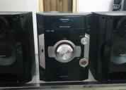 Equipo de sonido panasonic con control