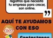 Registros online en venezuela